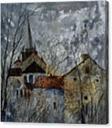 Romanesque Church  Canvas Print