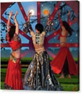Romani Dance Canvas Print