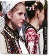 Romanian Beauty - 2 Canvas Print