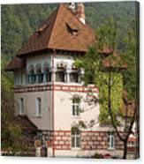 Romanian Villa Canvas Print