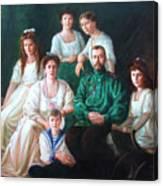 Romanov Family Portrait Canvas Print