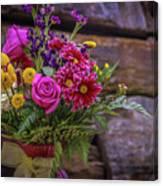 Romantic Bouquet 3 Canvas Print