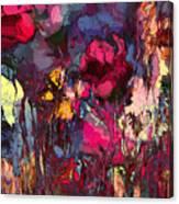 Romantic Garden Canvas Print