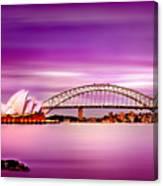 Romantic Harbour  Canvas Print