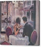 Romantic Meeting 2 Canvas Print
