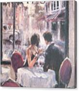 Romantic Meeting 3 Canvas Print