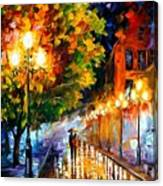 Romantic Night Canvas Print