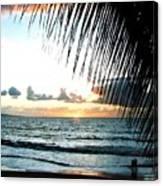 Romantic Sunset Canvas Print