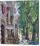 Rome A Small Talk By Barbiere Mario Canvas Print