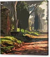 Rome, Appian Way - 05 Canvas Print