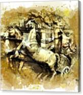Rome Chariot  Canvas Print