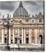 Rome Italy St. Peter's Basilica Canvas Print
