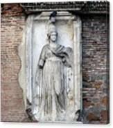 Rome Italy Statue Canvas Print