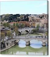 Rome River Canvas Print
