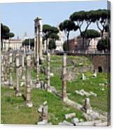 Rome Ruins Canvas Print