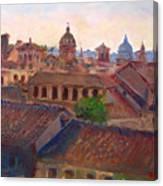 Rome Seen From Campidoglio Canvas Print