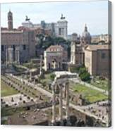 Rome The Old New World Canvas Print