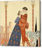 Romeo And Juliette Canvas Print