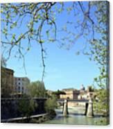 Rome's River Canvas Print