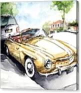 Rometsch-volkswagen Sports Canvas Print