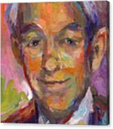 Ron Paul Art Impressionistic Painting  Canvas Print