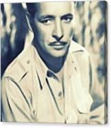 Ronald Colman, Hollywood Legend Canvas Print