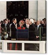 Ronald Reagan Inauguration - 1981 Canvas Print