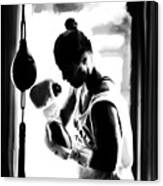Ronda Rousey On Target Canvas Print