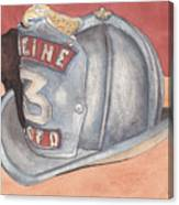 Rondo's Fire Helmet Canvas Print
