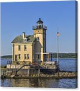 Rondout Light Canvas Print