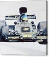 Ronnie Peterson - Lotus 76 Canvas Print