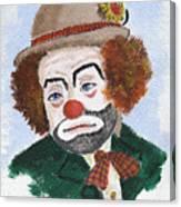 Ronnie The Clown Canvas Print