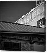 Roof And Brick Canvas Print