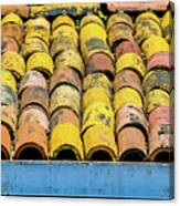 Roof Tile Canvas Print