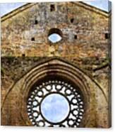 Roofless Church Abbazia Di San Galgano Canvas Print
