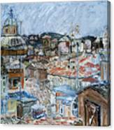 Roofs of Rome Canvas Print