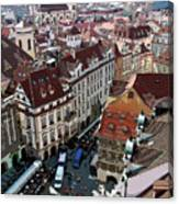Rooftop In Prague Canvas Print