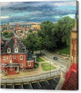 Rooftop View_pano Canvas Print