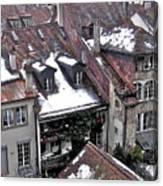 Rooftops Of Berne II Canvas Print