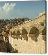 Rooftops Of Dubrovnik  Canvas Print