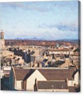 Rooftops Of Elgin Canvas Print