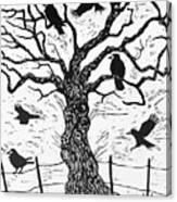 Rook Tree Canvas Print