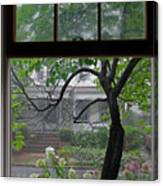Room With A Rainy View Canvas Print