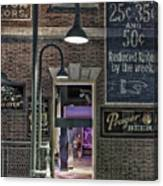 Rooms For Rent 25 Cents Signage Canvas Print