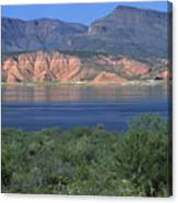 Roosevelt Lake - Panoramic Canvas Print