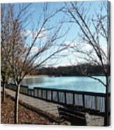 Roosevelt Lake Promenade Canvas Print