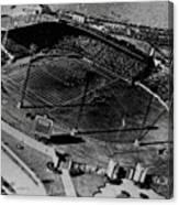 Vintage - Roosevelt Stadium Canvas Print