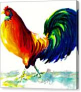 Rooster - Big Napoleon Canvas Print