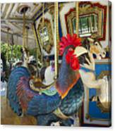 Rooster Coop Kids Ride Canvas Print