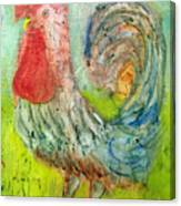Rooster Canvas Print
